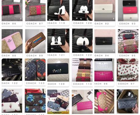 コーチ、ヴィヴィアン財布、バッグの仕入れ先教えます ブランド品の仕入れ先を教えます。 イメージ1