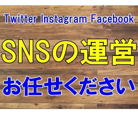 あなたのSNSを代わりに運営します 更新するのが面倒なSNSを代わりに運営します。 イメージ1