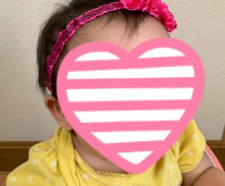 小さなお子さんにヘアバンド作ります 子供に可愛いヘアバンドはどうですか? イメージ1