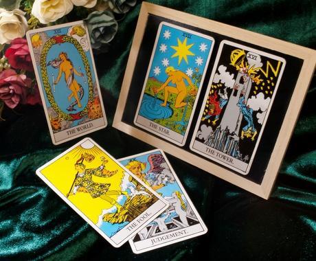 ウェイト版タロットで占います あなたの気になる現状や未来をカードから読み取ります イメージ1