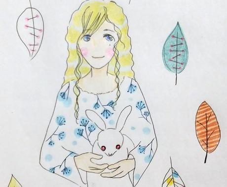 サイキックアートお描き致します ☆守護存在、過去生等々をお描き致します☆ イメージ1