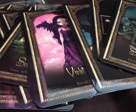 影の住民からのアドバイスをお届けします シャドウ&ライトオラクルカードのちょっぴりダークなアドバイス イメージ1