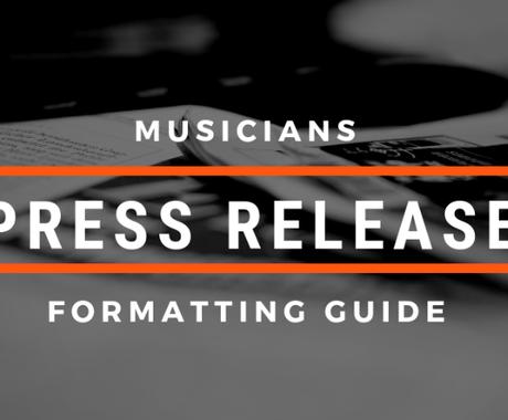 あなたの音楽プレスリリースをプロが英語で書きます 音楽を世界に発信?それには英語の鋭い自己紹介が必要です。 イメージ1