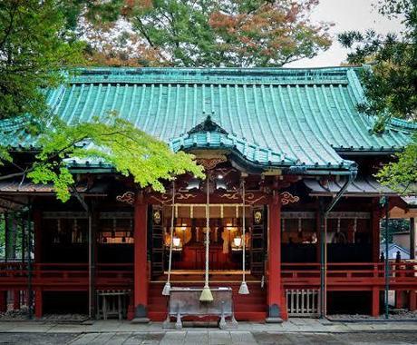 赤坂氷川神社代理参拝いたします 合格祈願、良縁祈願、本物の神通力で神様を動かします イメージ1