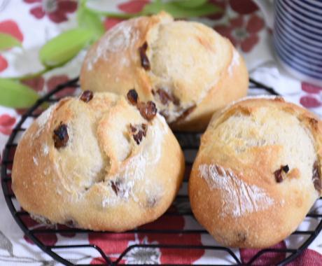 自家製酵母を起こしてパンを焼く事が出来ます 思ったより簡単美味しいおうちパン夏休みの自由研究にも! イメージ1