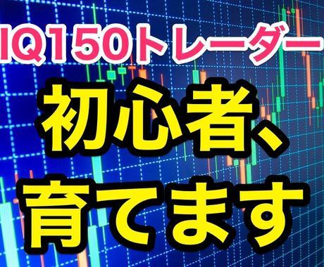 IQ150トレーダーの手法・全て暴露します 【販売開始セール中!】FX初心者が短時間で上達する最高プラン イメージ1