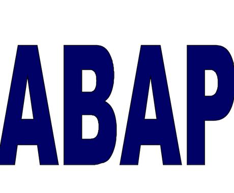 ABAP開発の相談に乗ります 近くにスペシャリストがいない時、技術面の相談が必要な時に イメージ1