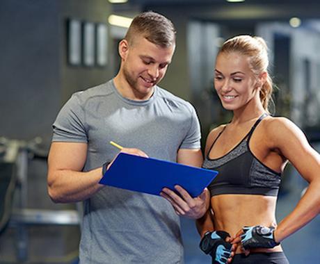 トレーニング方法、カウンセリング指導します 状況確認→食事の仕方アドバイス→トレーニング理論 イメージ1
