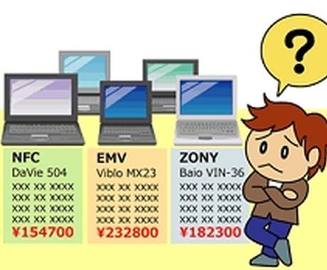 新規PC購入についてアドバイスをします イメージ1