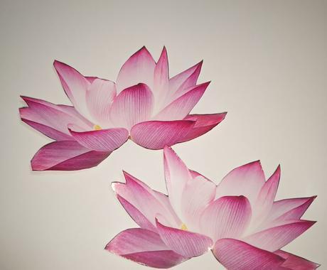 お好きなお花をシールにします 持ち物等を華やかにしませんか? イメージ1