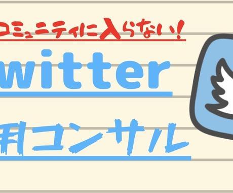 1週間、Twitter運用徹底コンサルいたします 1週間の徹底コンサルであなたのTwitter集客サポート‼︎ イメージ1