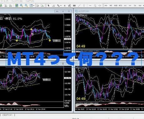 BO FX MT4設定をサポートします 投資を始める時につまずいてしまう。MT4設定をサポートします イメージ1