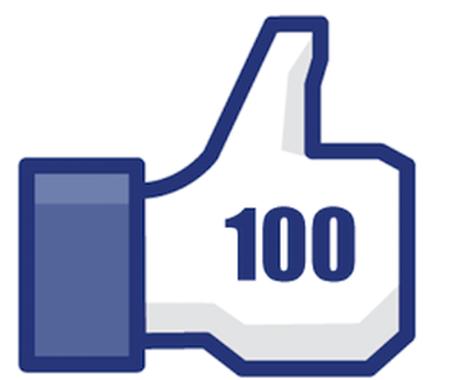 """facebookページをお持ちの方""""いいね!""""を100増やします。 イメージ1"""