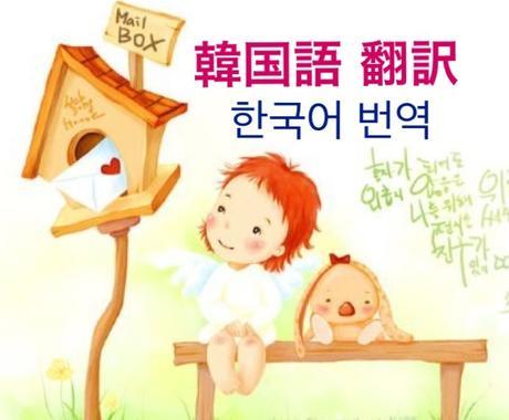 ネイティブによるスピーディな韓国語翻訳致します 600文字以内でしたら2~3時間以内に完成‼️ イメージ1