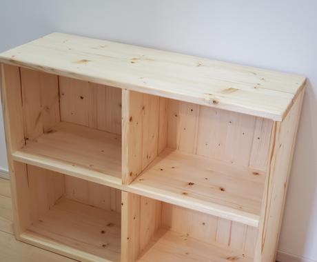 お部屋の空いた隙間に収まる棚・台など作ります サイズ調整やオーダーメイド可能です! イメージ1