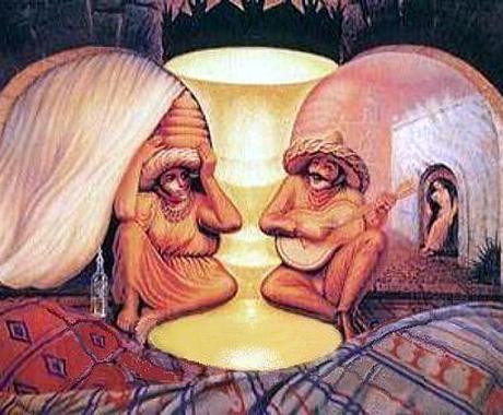 この絵何に見えます?背景に隠れたあなたを見つけます その後どんな自分が現れるでしょう? イメージ1