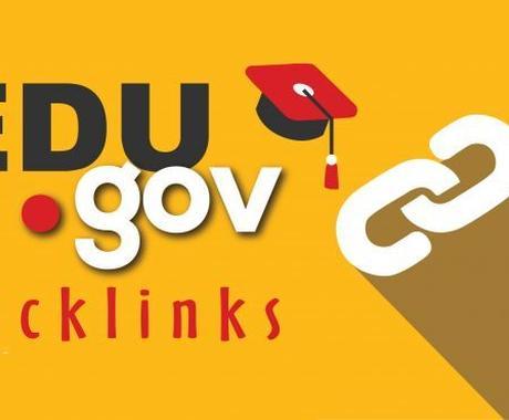 Edu/Govドメインから25本被リンクします 【高権限】教育 政府機関ドメインからの被リンクで検索順位UP イメージ1