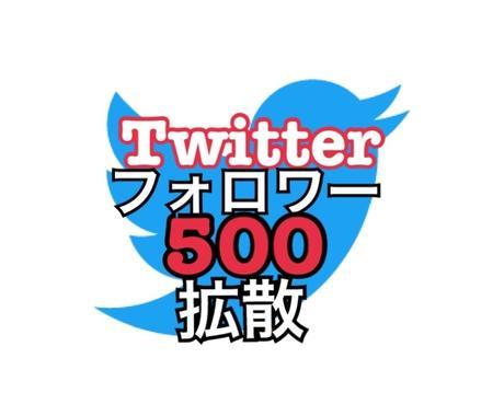 Twitterフォロワー500増やします 日本人アクティブフォロワー500増やす! イメージ1