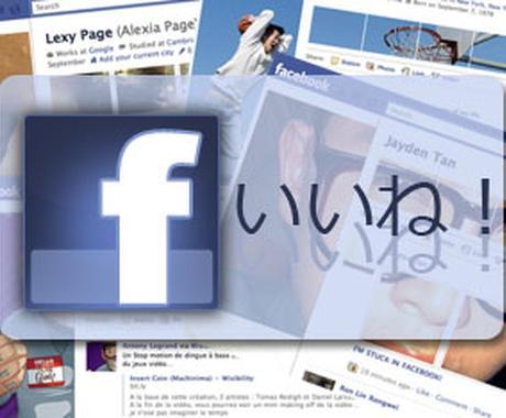 【無料お試し中】男女4人があなたのフェイスブックページに1ヶ月毎日いいね!&コメントします イメージ1