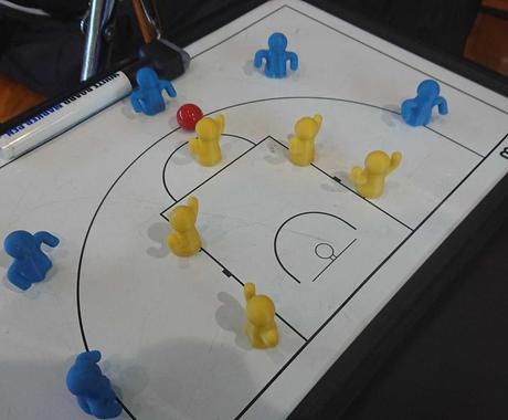 バスケットボール用作戦ボード立体人形を作ります 好評!ミニバス等の指導者、保護者にお勧めです♪ イメージ1