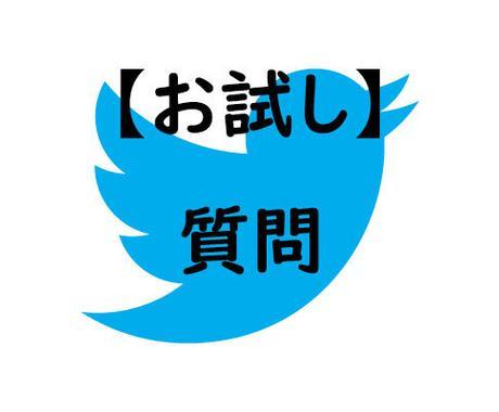 Twitterに関する質問受付けます フォロワー5万人のインフルエンサーが丁寧にサポート イメージ1