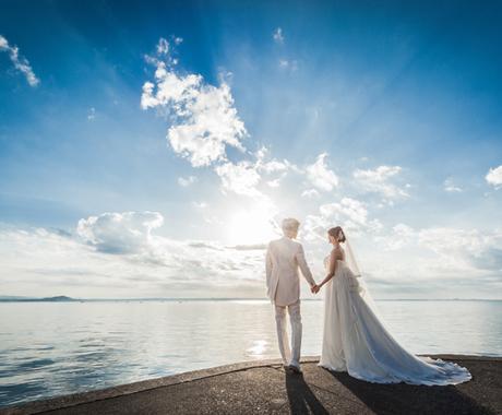 あなたの結婚時期を宇宙と交信して教えます 挙式の様子、一言アドバイスまでお付けしてお届け! イメージ1