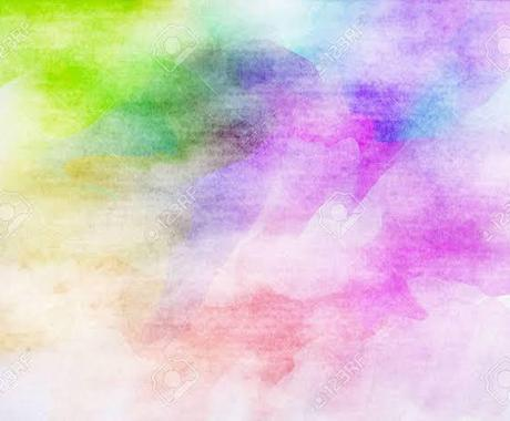 魂の色合いをお教えします スピリチュアルカラーで未来を彩りましょう イメージ1