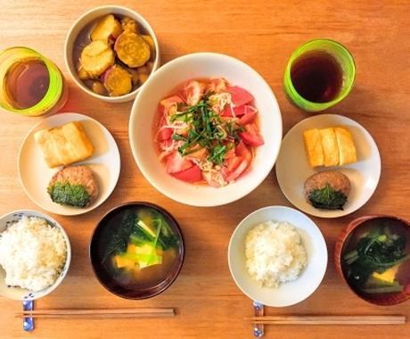 食事の写真を見て食事指導いたします ★1週間サポート★お食事の写真をもとに食事の指導致します イメージ1