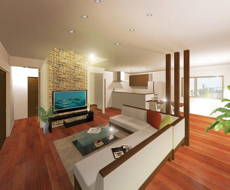 住宅の3D図面を作成致します 2000プラン以上を作成、提案しています。 イメージ1