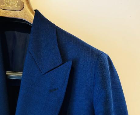 テーラーがスーツのコーディネート提案をします コーディネート提案サイズのご相談など何なりお申し出下さい イメージ1