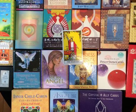 天使からのメッセージをカードを通じてお伝えします ふんわりでもピンポイント☆おみくじ感覚でご体験ください♪ イメージ1