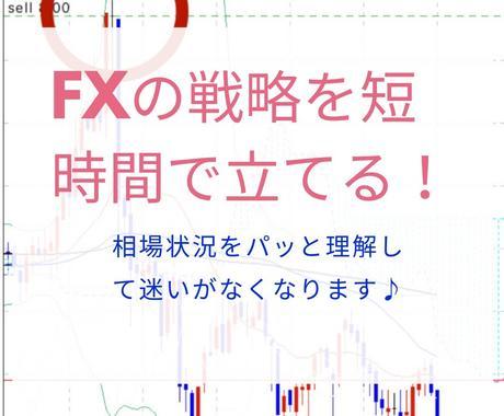 忙しい人でも短時間で戦略をたてられるFX手法ます FXで迷いなくエントリーしたい方へ条件さえ揃えばいいんです イメージ1