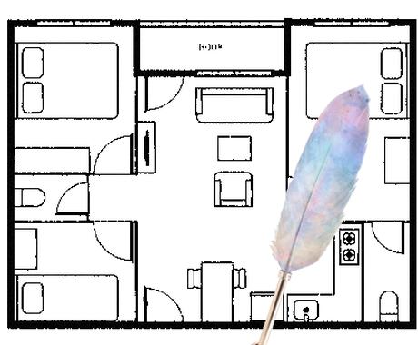 お家のエネルギー診断をします お家のなかに良いエネルギーが通っているかどうかをみます イメージ1
