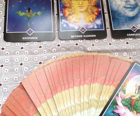 OSHO ZEN TAROT を使い鑑定します 心の奥にある本当の声をあぶり出します イメージ1