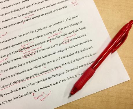 英語文章の校正をします 英語翻訳者があなたの英語文章を丁寧に校正します☆ イメージ1
