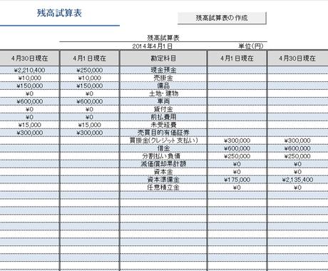 【EXCEL】 本格!簿記家計簿マクロ ~ Exlla ~ イメージ1