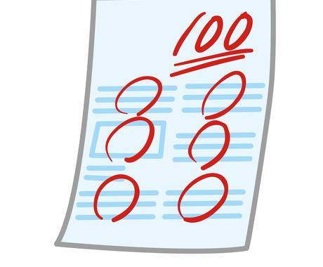 定期テストの振り返り・分析をお手伝いします 次回のテスト勉強やどういった復習をするかの参考にしてください イメージ1