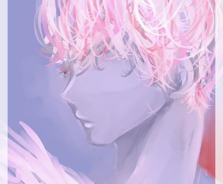 ガイドや天使など縁のある存在のイラストを描きます 前向きなメッセージと共にお贈りします。 イメージ1