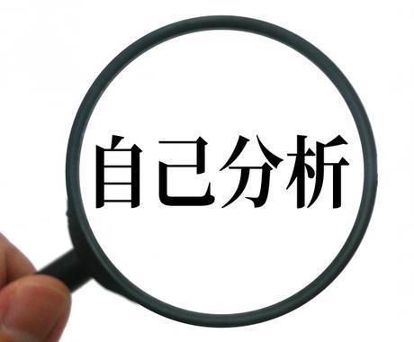 就職活動のサポート(自己分析編)します 自己分析から効果的なアピールを イメージ1