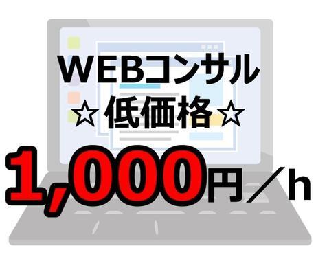 1,000円 プロがWEB集客の相談乗ります これからWEB集客したい方!何から始めるか明確になってますか イメージ1