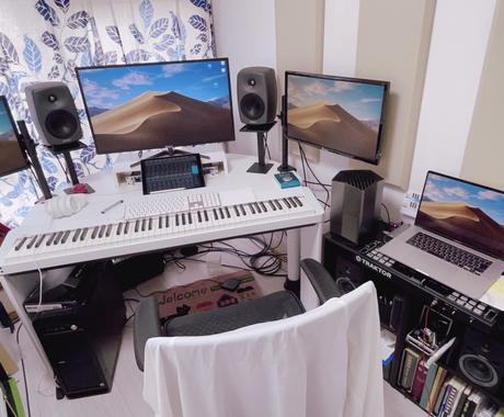 DTMを使用した曲の作り方教えます 〜業界標準をマンツーマンで教えます!〜 イメージ1