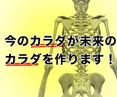 1万件以上の経験あり!貴方のカラダ分析します 骨盤の崩れ、肩の高さの違いなどからカラダの硬さを指摘! イメージ1