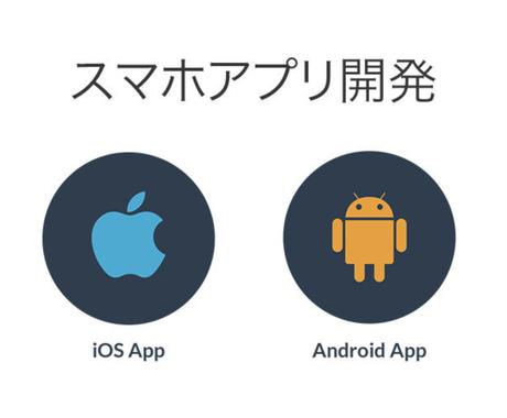 iOS,Androidアプリを開発します UIデザインも対応可能!アイコンデザインを無償で提供! イメージ1