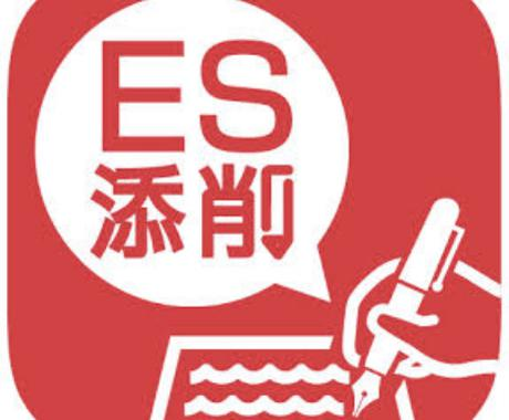 人事担当者が【通過するES】添削します 内定実績多数(金融、化学、石油、準公務員ほか) イメージ1
