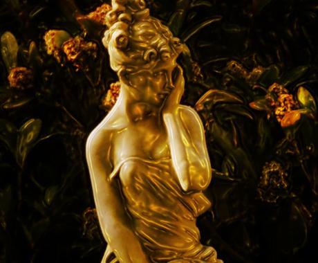 金運向上のWエネルギーを送ります 豊穣の女神アバンダンティア&女神ダナの金の杖 イメージ1