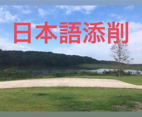 現役国立大学院生が日本語添削致します 中国語、英語対応可能です。批改日语作文 イメージ1