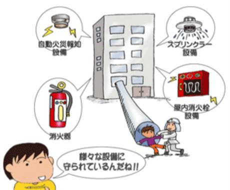 経済的な消防設備の設置方法を教えます 建築士、不動産管理業者、不動産オーナーの方へ イメージ1