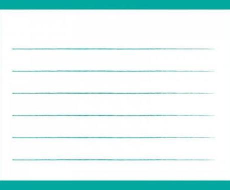 お手紙書きます 文字が書けない、文章が思い浮かばない人のために。 イメージ1