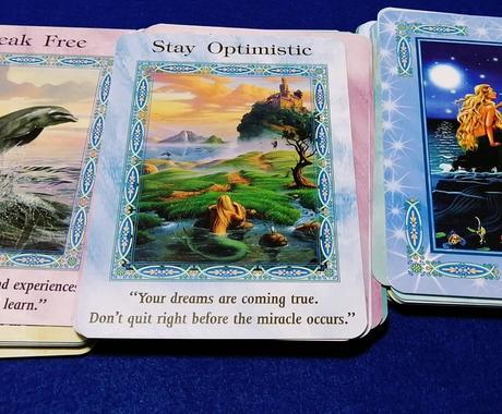 イルカと人魚のオラクルカードを引きます 優しいメッセージをオラクルカードからお伝えしますね! イメージ1