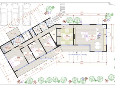 住宅の間取りプランを提案します 建築家の下で学んだ設計士が住宅の間取りプランをご提案します イメージ1